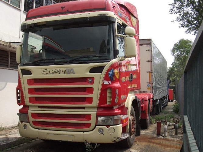 Scania 6x2 Prime Mover