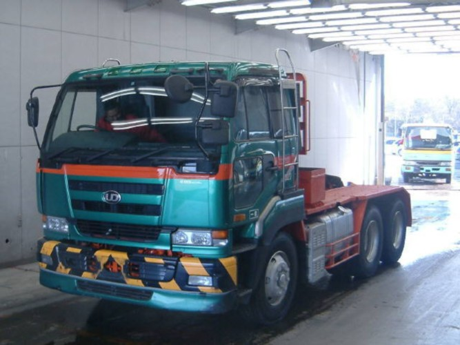 Nissan 6x4 Prime Mover