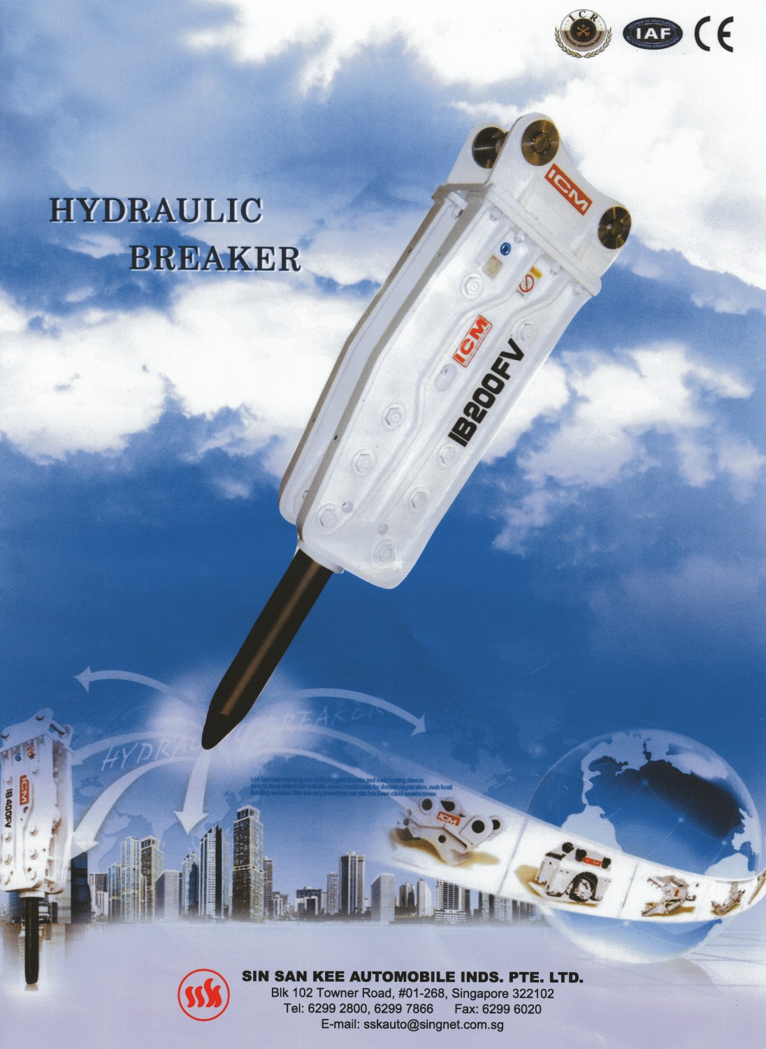 Hydraulic Breaker Catalogue